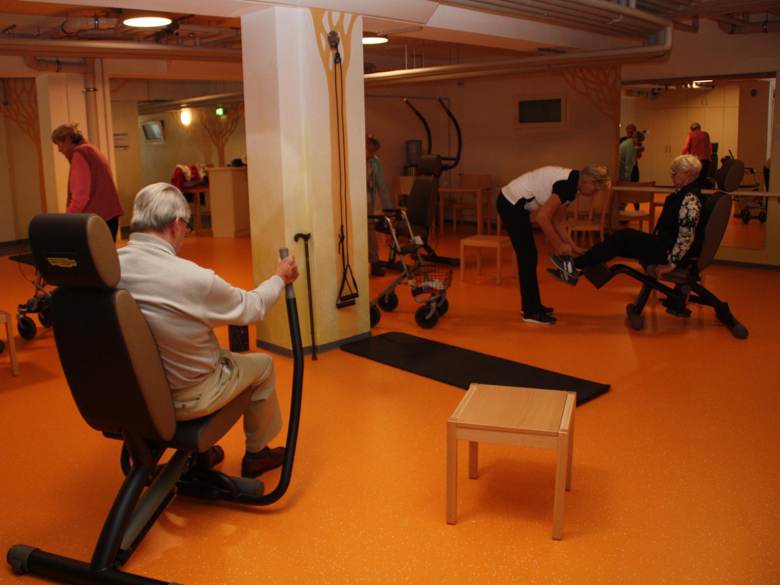 Seniorengerechter Fitnessraum