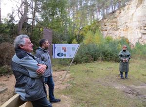 Regionalbudget: Eröffnung Geostation Heimarshausen