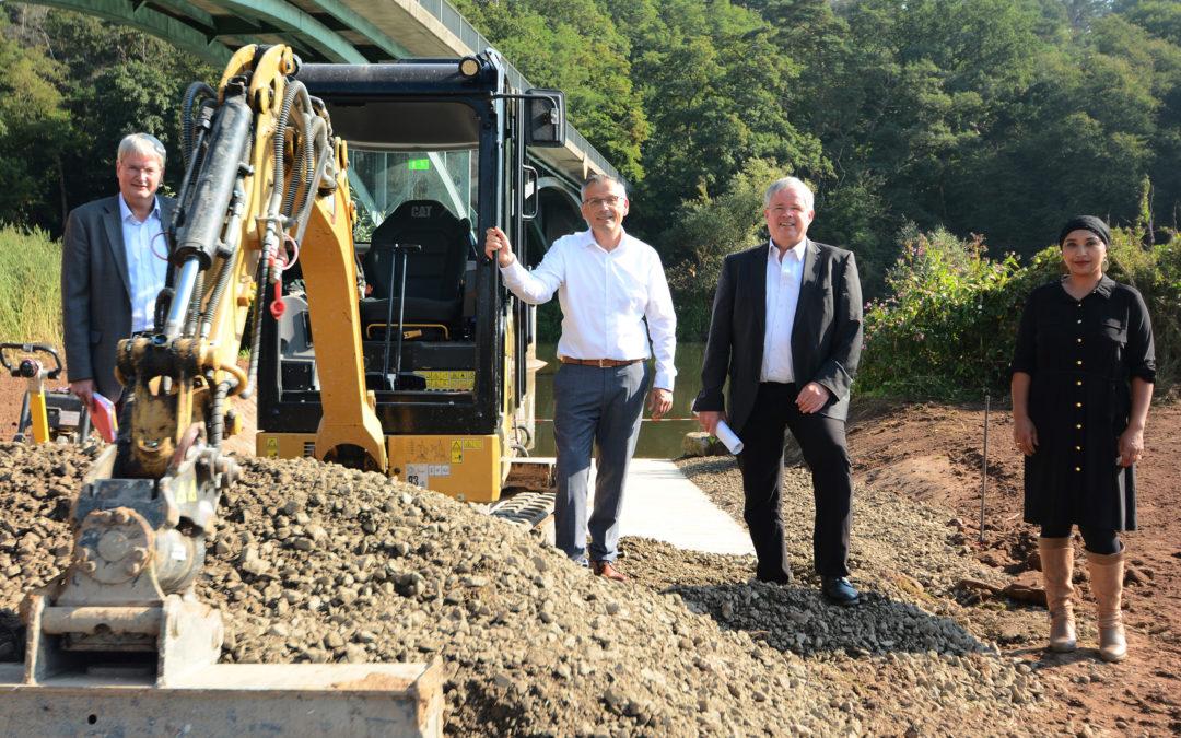 LEADER: Erneuerung der Bootsslipanlage in Fuldabrück-Dennhausen
