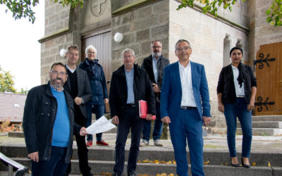 LEADER: Barrierefreier Zugang für die Hoofer Kirche