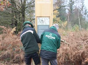 Regionalbudget: Naturpark Reinhardswald bekommt neue Info-Stelen und Wandertafeln