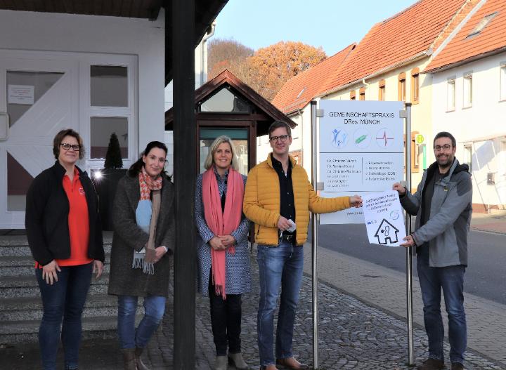 LEADER: Neue Praxis-Zweigstelle in Immenhausen sichert die Gesundheits-Nahversorgung in Holzhausen